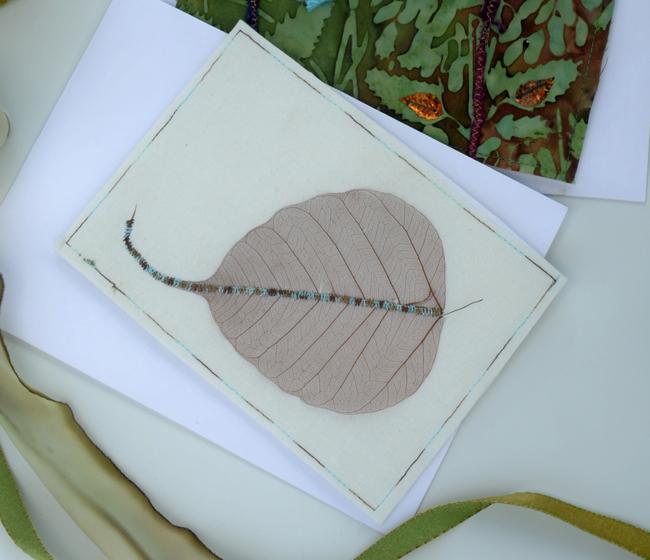 Card leaf