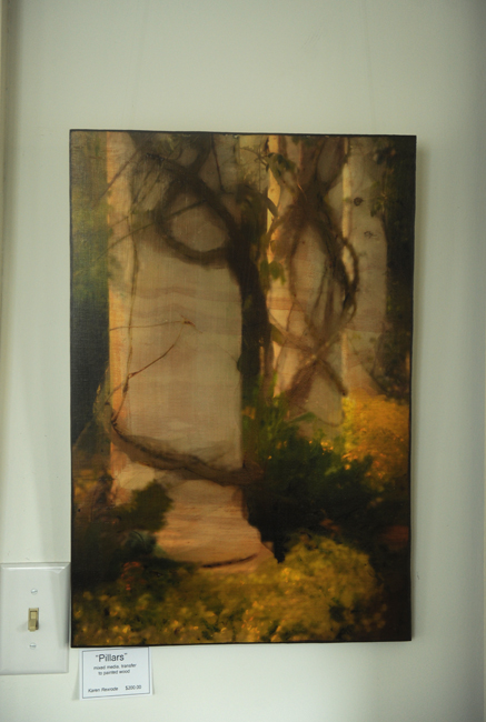 Pillars wood transfer