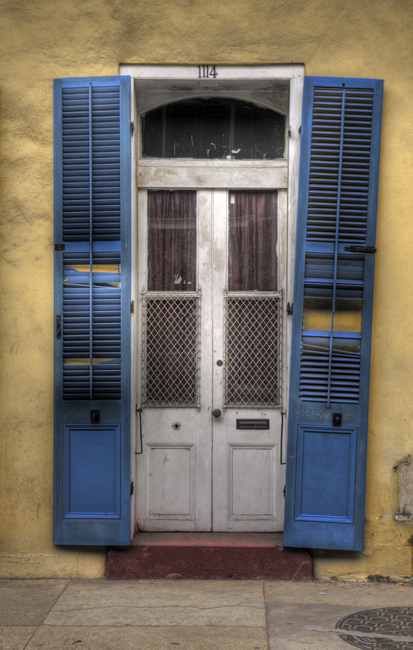 Typepad new orleans door