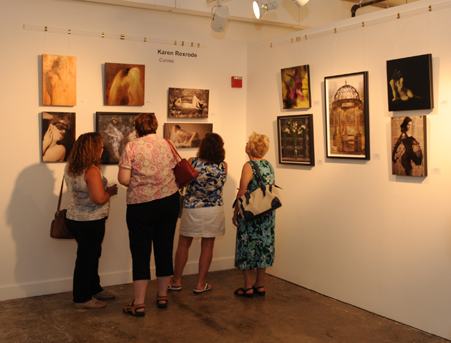 Lorton featured artist show curves