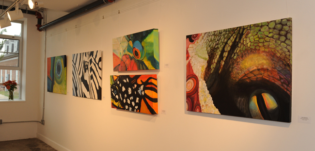 Leesa Woodard's featured artist show