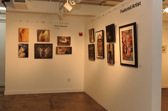 Lorton Featured artist wall August show cropped