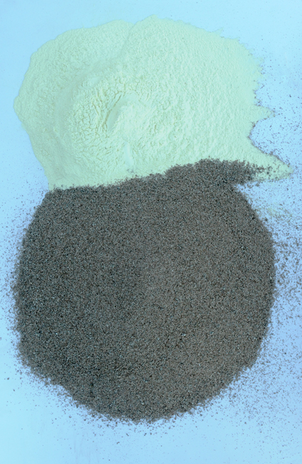 Sulfur and vermiculite