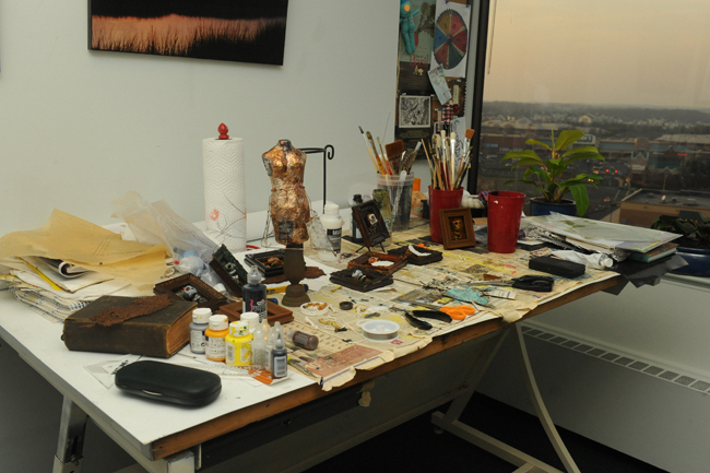 My studio at Sudley Towers