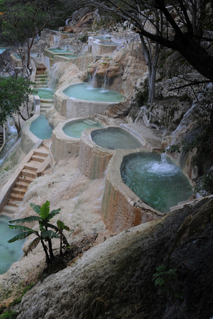 Pools of Tolantongo multiple