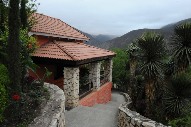 Accomodations at Tolantongo