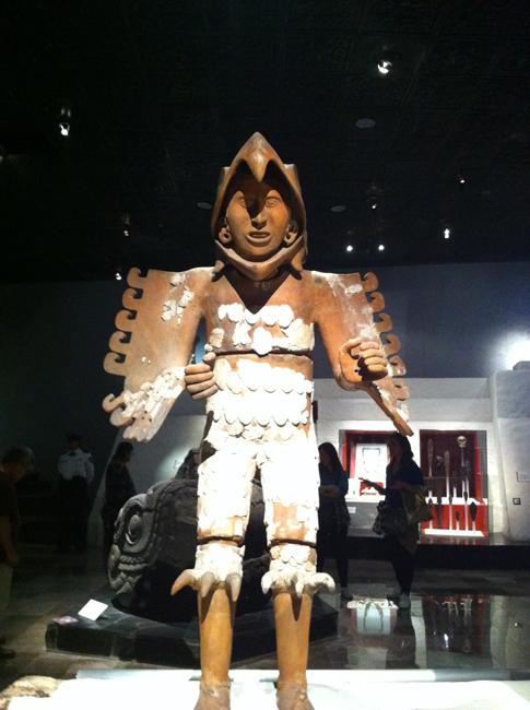 Mexico eagle warrior small