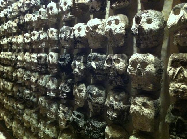 Mexico skulls small