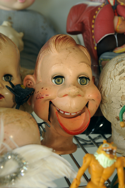Doll head Howdy Doody