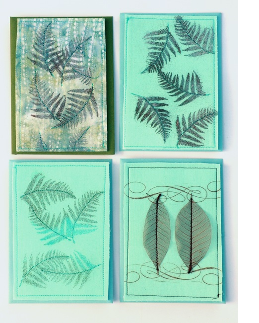 Cards turquoise series