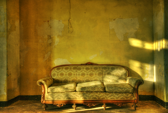 Couch at Trans Allegheny