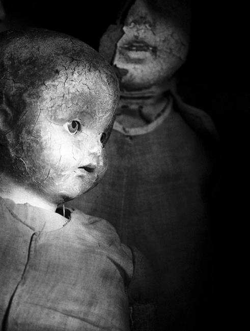 Black and white dolls