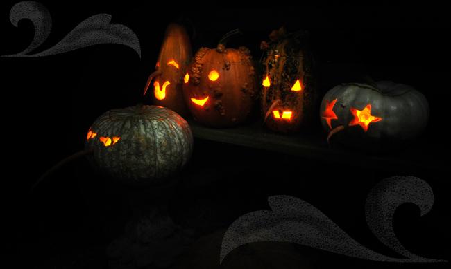 Carved pumpkins 2013 a