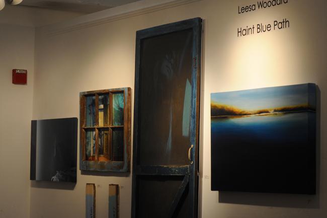 Leesa Woodard's Haint Blue show