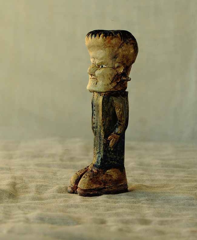 Pez dispenser Frankenstein
