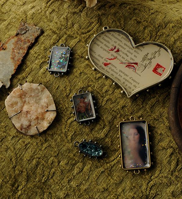 Art and Soul jewelry from Susan Lenart Kazmer's class