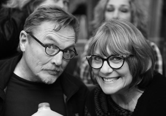 Bill Weber and Katherine Engen
