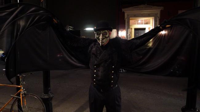 Michael DeMeng as bat