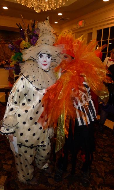 Katherine Engen and Sue Urquhart in costume