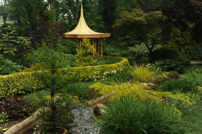 Japanese garden at Ladew