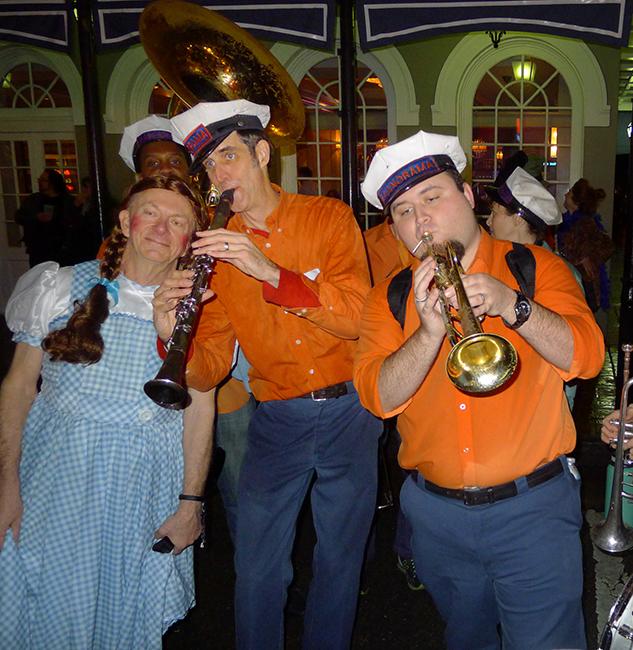 Dorothy and Panorama Jazz Band
