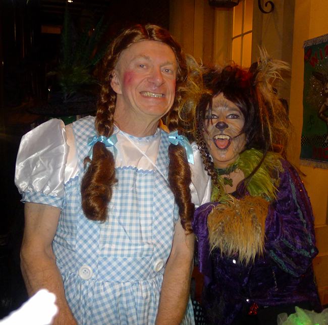 Dorothy and Toto in New Orleans