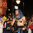Egyptian in Krewe Du Vieux 2017