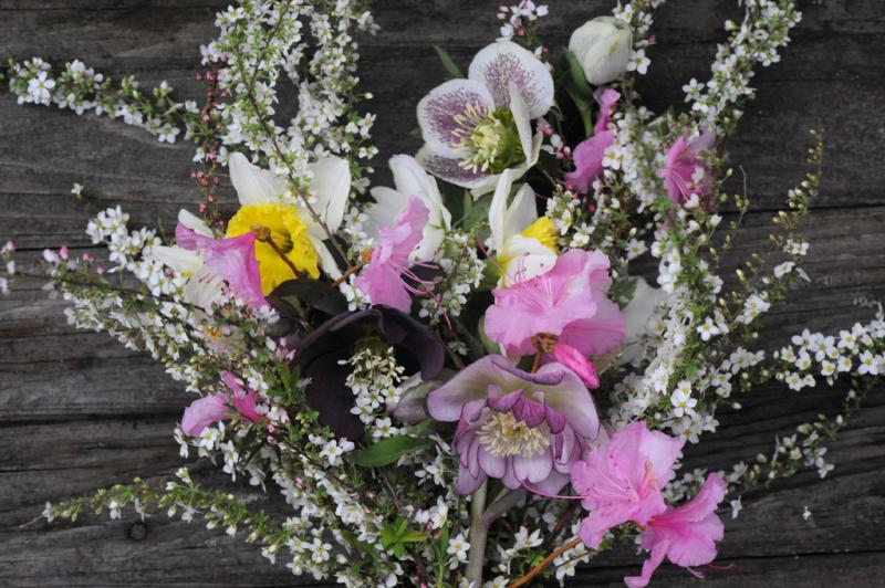 Flower arrangement on March 1