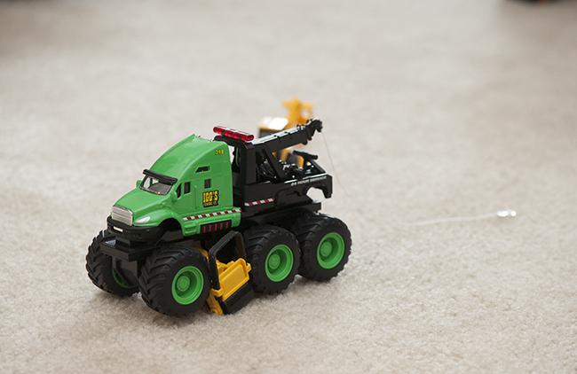 Tow truck for Quinn