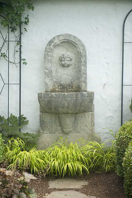 Fountain in Middleburg Garden