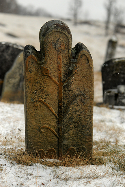 Headstone at Kimberling Lutheran Church branch