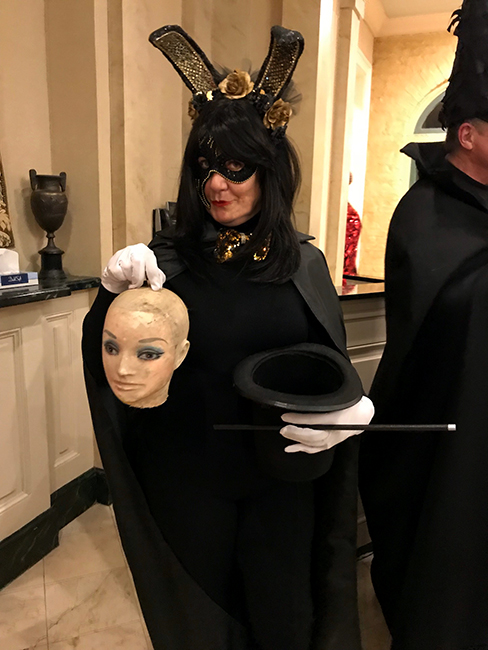 Katherine as The Magician