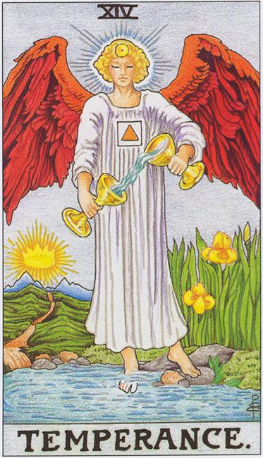 Tarot card Temperance