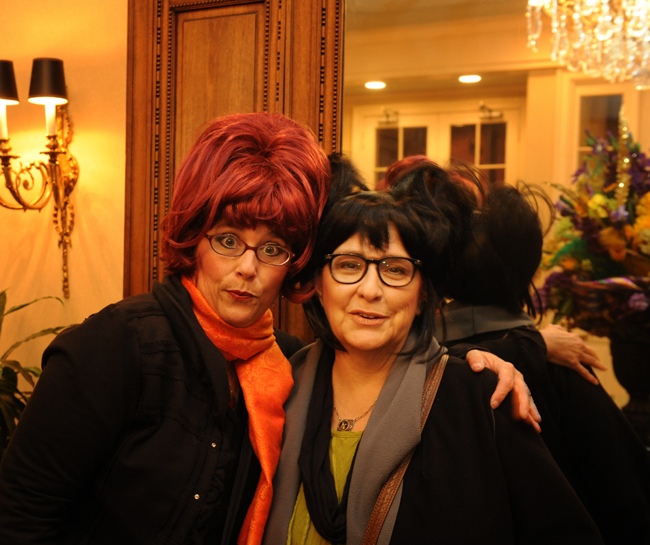 Sue Urquhart and Kathy Gould