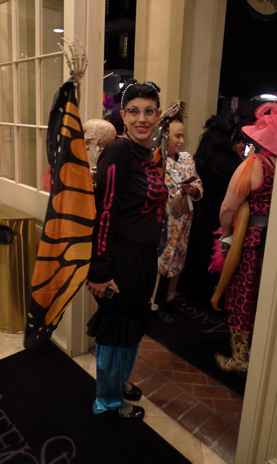 Renee Harper as monarch