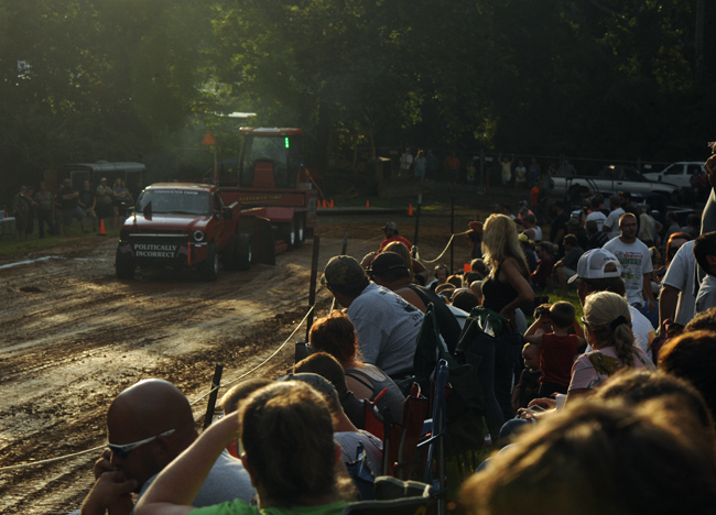 Truck and tractor pull at the Fauquier County Fair