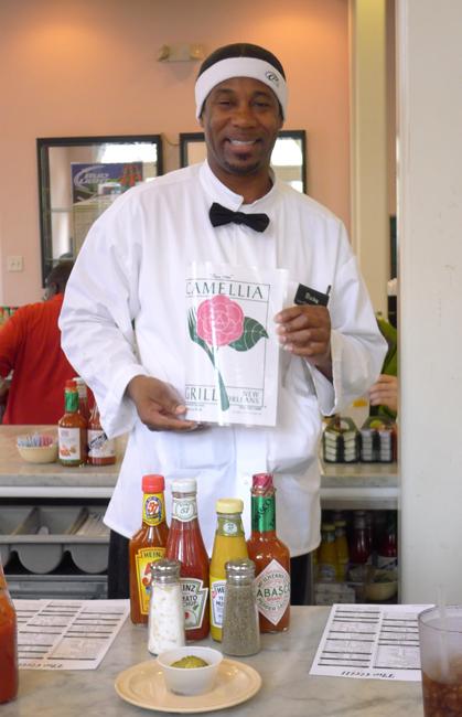 Camellia Grill waiter Ricky
