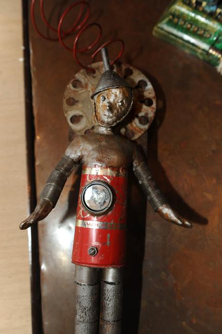 Tin Man by Mary Leigh Payne Sabshin