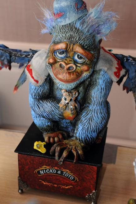 Flying Monkey by Lynn Ovenden