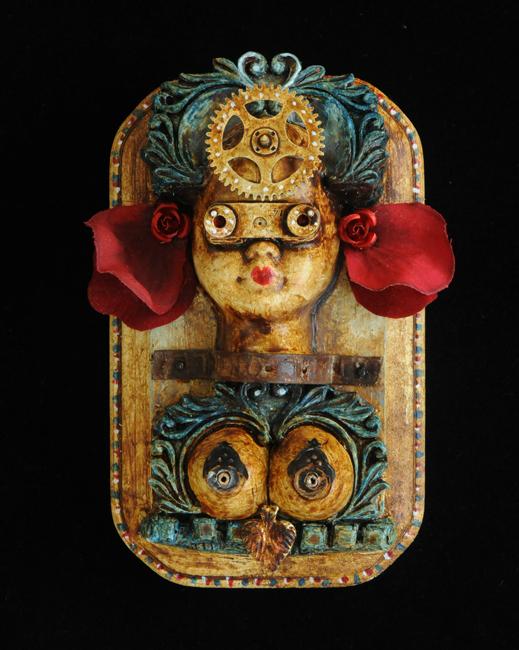Assemblage Visions of Frida Kahlo