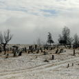 Headstones at Kimberling Lutheran Cemetery