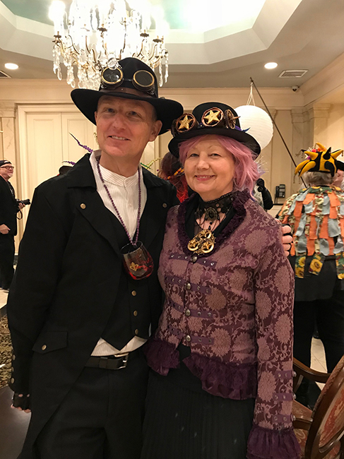 Evelyn and Alan tarot costume
