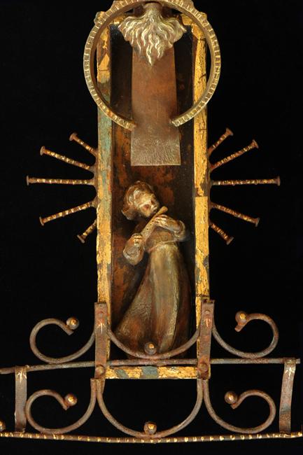 Saint Cecilia detail