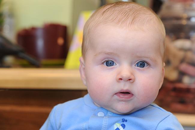 Quinn at 4 months