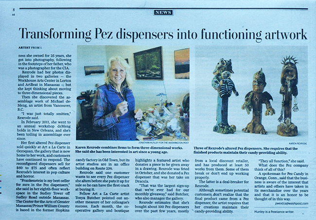 Pez article in Washington Post