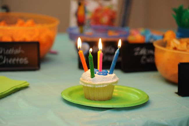 Felicity's 5th birthday cupcake