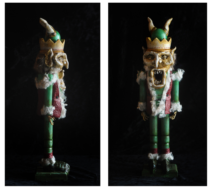 Krampus side and front