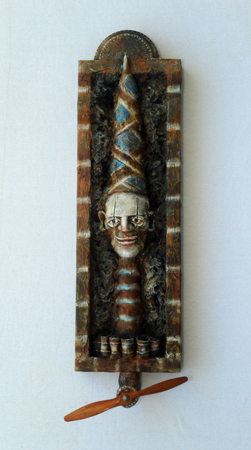 Assemblage Carney Clown Clyde