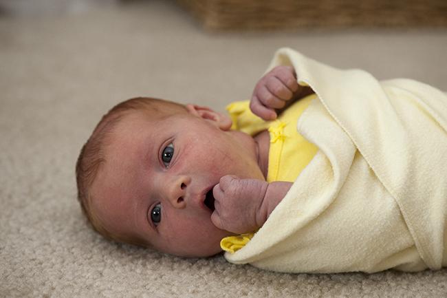 Juniper at 9 days old