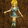 Altered Pez dispenser Dolly Parton